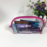 clear pvc cosmetic bags wholesale for men and women traveling