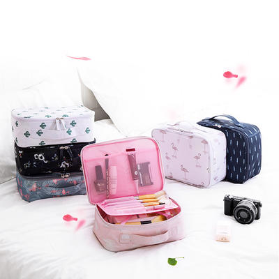 Portable Travel Cosmetic Pouch Organizer for Women