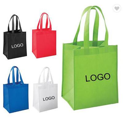 Nonwoven shopping bag manufacturer reusable grocery  tote bag