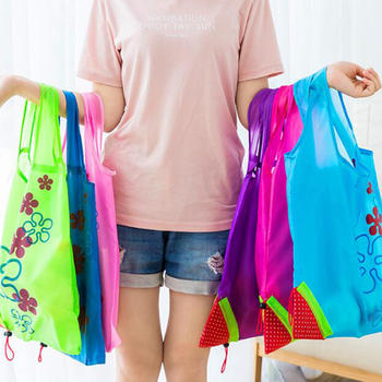 nylon shopping bag durable and lightweight grocery bags