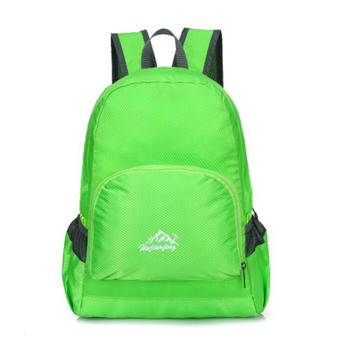 Foldable Backpack Lightweight Waterproof Skin bag for Hiking and Camping
