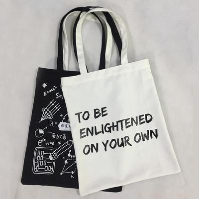 Eco-freindly Organic Cotton bag 12 oz Heavy duty Canvas Shopping Bag