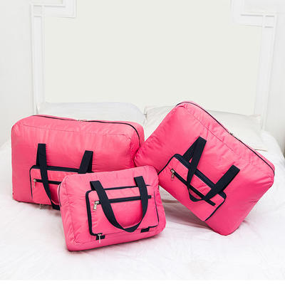 ISO Certified factory custom waterproof nylon Foldable travel bag