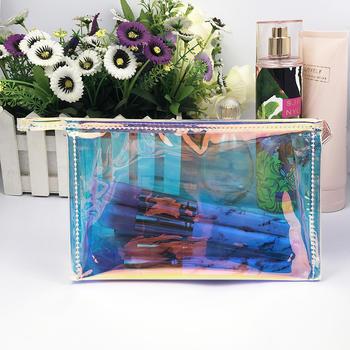 Laser pvc cosmetic bag