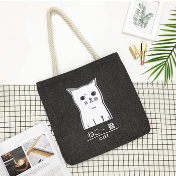 Reusable Grocery Bag Shopping Tote Extra Large Heavy Duty 12 oz Cotton Canvas handbag