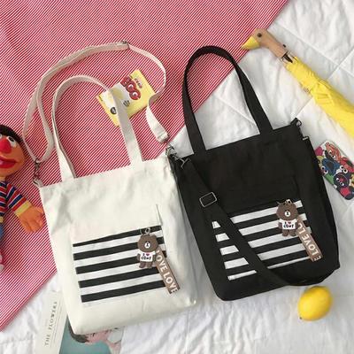 Women Canvas Tote Handbags Casual Shoulder Work Bag Crossbody