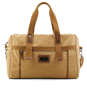 Super Tough Heavy weight Washed Cotton Canvas Duffle Bag