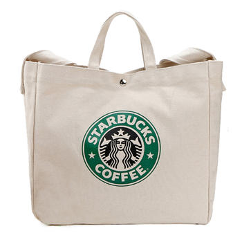 Chinese Factory Customize Cotton Canvas Shoulder Bag with Handle
