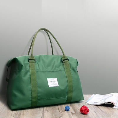 Canvas Duffle Bag for Travel, 50L Duffel Overnight Weekend Bag