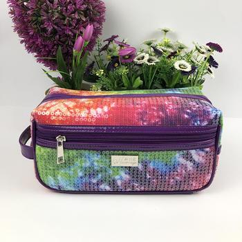 Large Travel Makeup Bag Organizer-CosmeticsTrain CaseToiletry Bags for Men