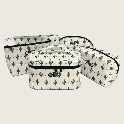 Custom cheap gift pouch 100% cotton canvas make up bag