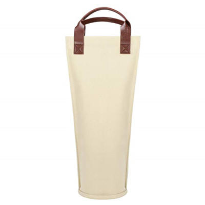Insulated padded thermal wine bottle carrying cooler bag