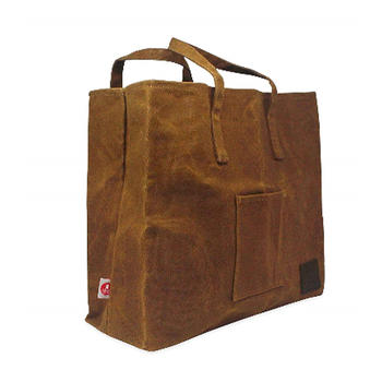 Custom professional design wax canvas shopping bag