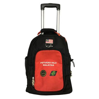 ISO Certifield bags factory custom trolley backpack