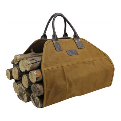 Fashion Canvas Bags at Affordable Price wax canvas firewood carry bag