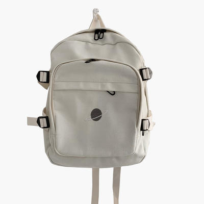 Best Canvas Bag Supplier custom school bag cotton backpack