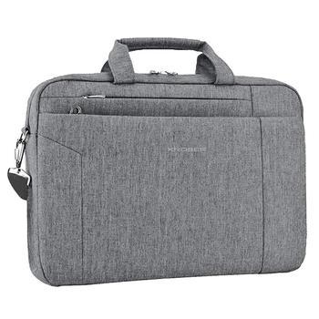 15.6 Inch Briefcase Shoulder Messenger Bag Water Repellent Laptop Bag