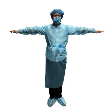 ISO Certificated factory disposable CPE isolation clothing